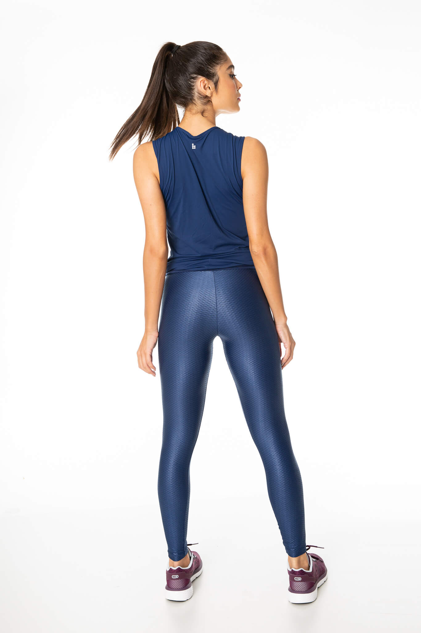 Legging Fuso Cos Suplex BS Blue