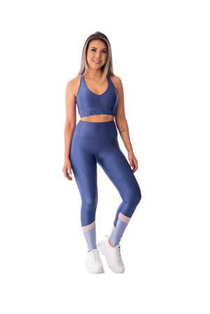 Sports Bra Fit Mighty Blue