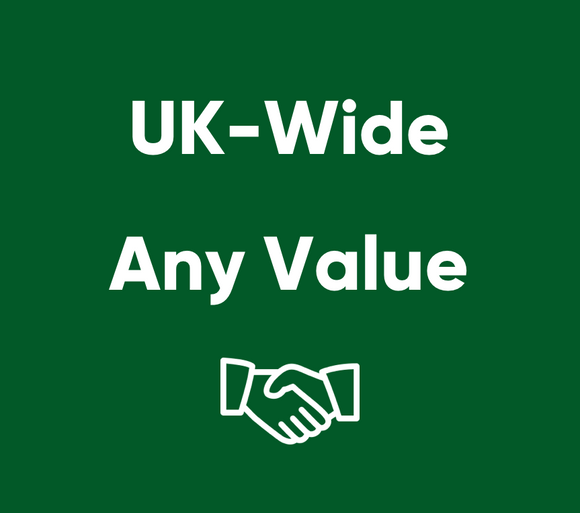 Mortgages - UK Wide - Any Value