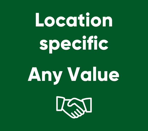 Mortgages - Location Specific - Any Value