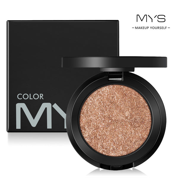 MYS Brand Face Makeup Powder 6 color Waterproof Minerals Shimmer Brightener Contour Glow Kit