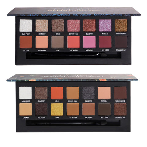 Pressed Matte Glitter Shimmer Palette Diamond Eye Shdow Palette Shimmer Smokey Eyes Brush Korean Cosmetic Set ABH Makeup Palette