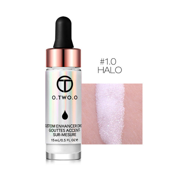 O.TWO.O Liquid Highlighter Make Up Primer Shimmer Face Glow