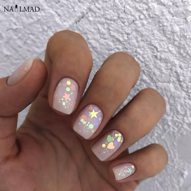 3ml/box Nail Art Glitter Mix