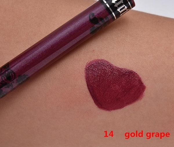 14 Color Liquid Lipstick Makeup Sexy Colors Lips Paint Matte Lipstick