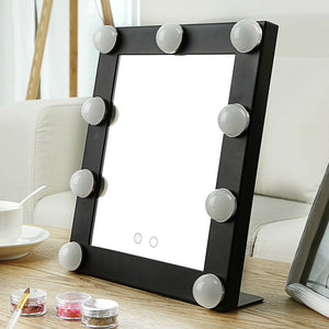 2018 New Table Single LED Model Portable Makeup Mirror