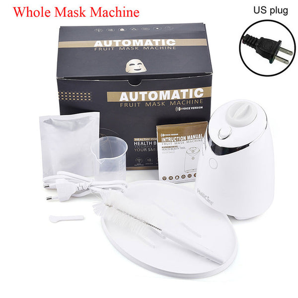 Fruit Face Mask Machine Maker Automatic DIY Natural Vegetable Facial Skin Care Tool