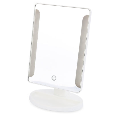 New Fashion Portable Folding Toilet Lighted Makeup Mirror