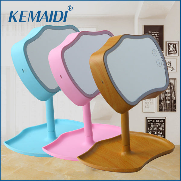 KEMAIDI Makeup Mirror LED Touch Screen y Mirror