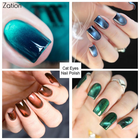 Zation Nail Art Tattoos Gel Varnish Glitter Charms Paint
