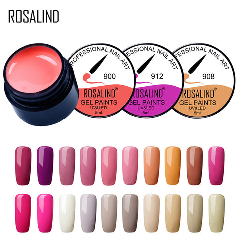 Nail gel polish 5ml nail art DIY varlish for nails manicure material gel polish set top selling product in 2018