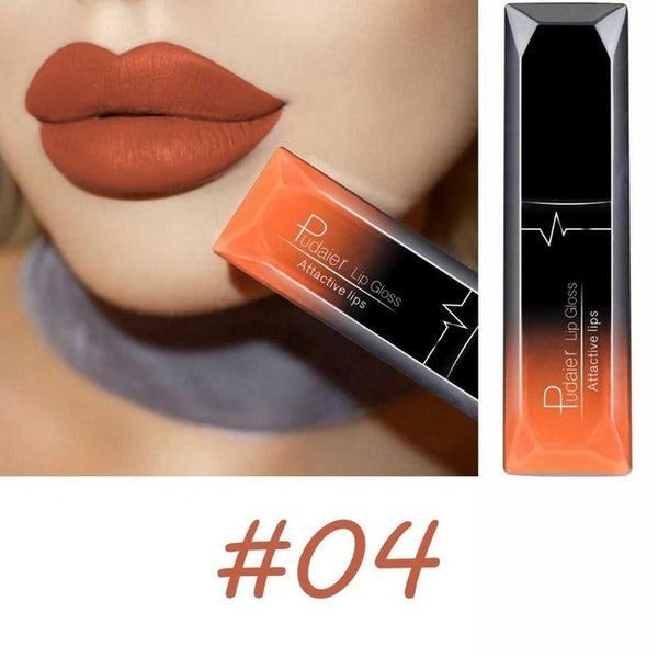 2018 Women Beauty Lip Makeup Sexy Long Lasting Waterproof Lip Gloss Matte Nude Liquid Lipstick Cosmetic Mother GIFT Lip Balm