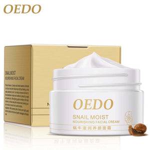 OEDO Snail Moist Nourishing Facial Cream Anti Aging Wrinkle Firming Cream