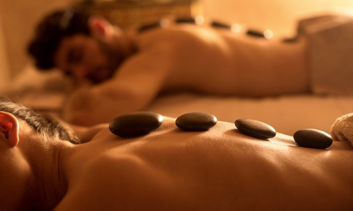 90-Minute Couples Massage with Hot Stones