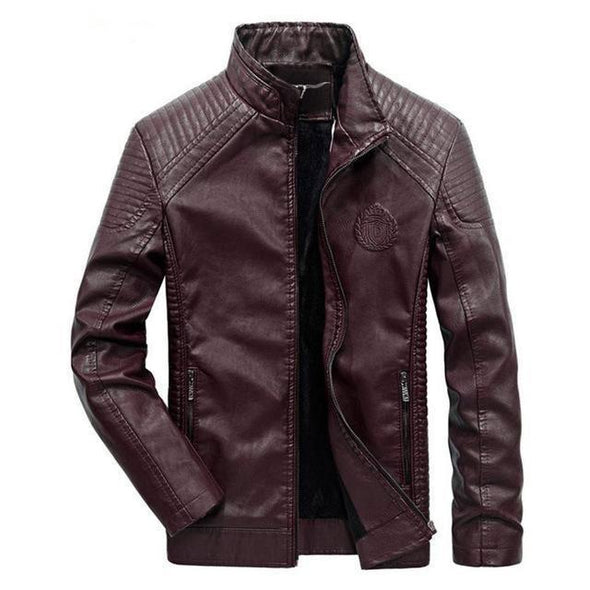 Dixon Leather Biker Jacket