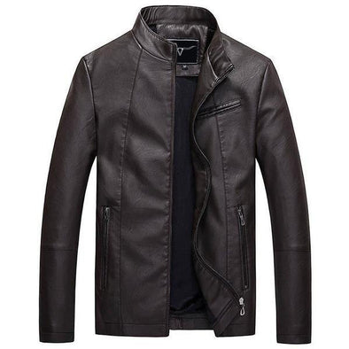 Dixon Leather Bomber Jacket