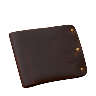 Dixon Leather Cross Design Bi-Fold Wallet