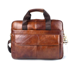 Dixon Leather Rustic Laptop Bag