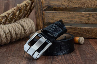 Dixon Leather Rugged Tribal Leather Belt