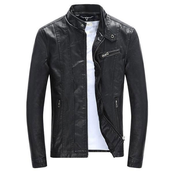 Dixon Leather Slim Winter Jacket