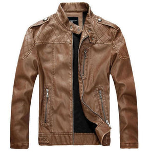 Dixon Leather Tribe Chopper Jacket