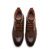 Dixon Leather Wing Tip Lace-up Boots