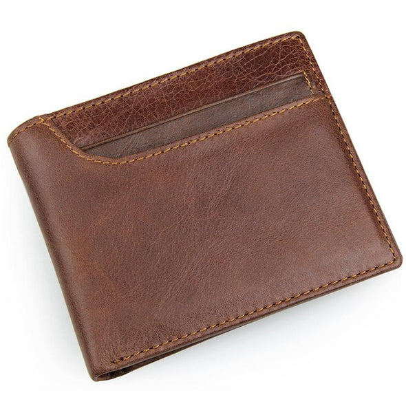 Dixon Leather Cross Style Bi-Fold Wallet