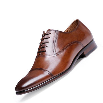 Dixon Leather Benton Cap Oxford Dress Shoes