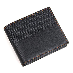 Dixon Leather Vintage Design Wallet with Coin Zip