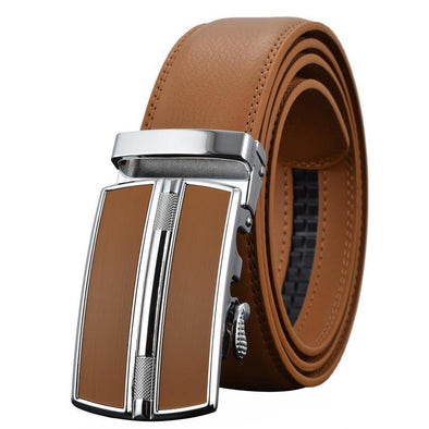 Dixon Leather Chrome Mission Belt