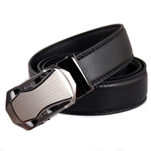 Dixon Leather Metal Swatch Belt