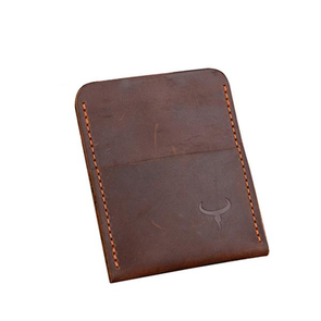 Dixon Leather Dual Pocket Card Holder
