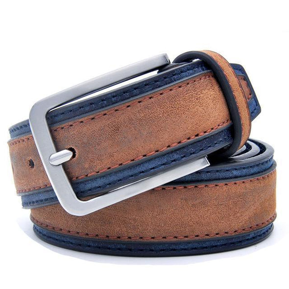 Dixon Leather Traditional Trimmed Leather Belt