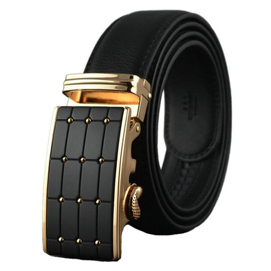 Dixon Leather Alligator Trimmed Belt