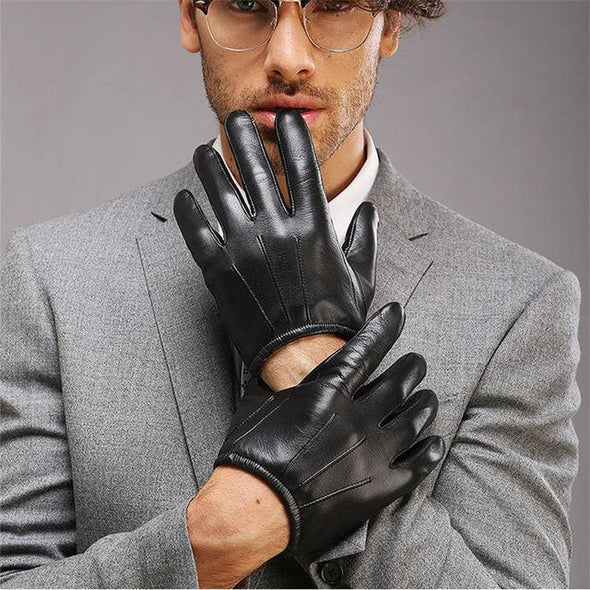 Dixon Leather Cropped Driving Gloves