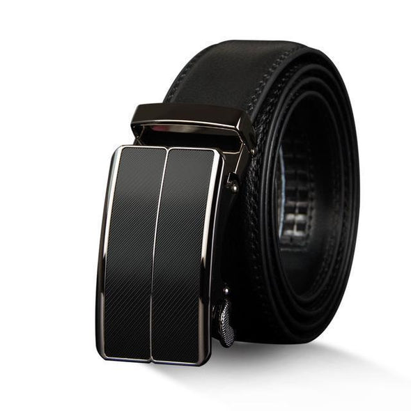 Dixon Leather Mission Styled Buckle Belt