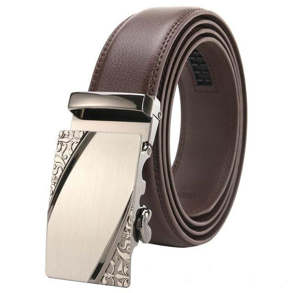 Dixon Leather Gradient Ivory Belt