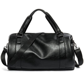 Dixon Leather Duffel Bag