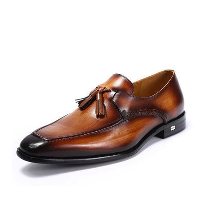 Dixon Leather Formal Tasseled Loafers