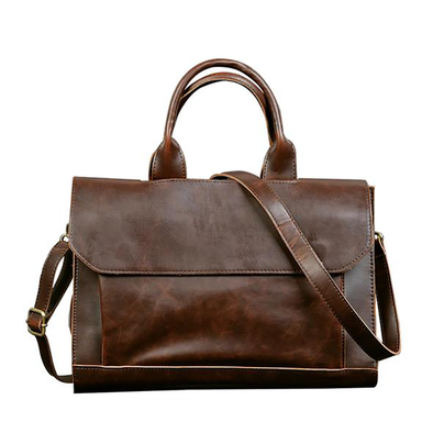 Dixon Leather Retro Styled Shoulder Bag