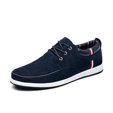 Dixon Leather Union Jack Patterned Casual Shoes