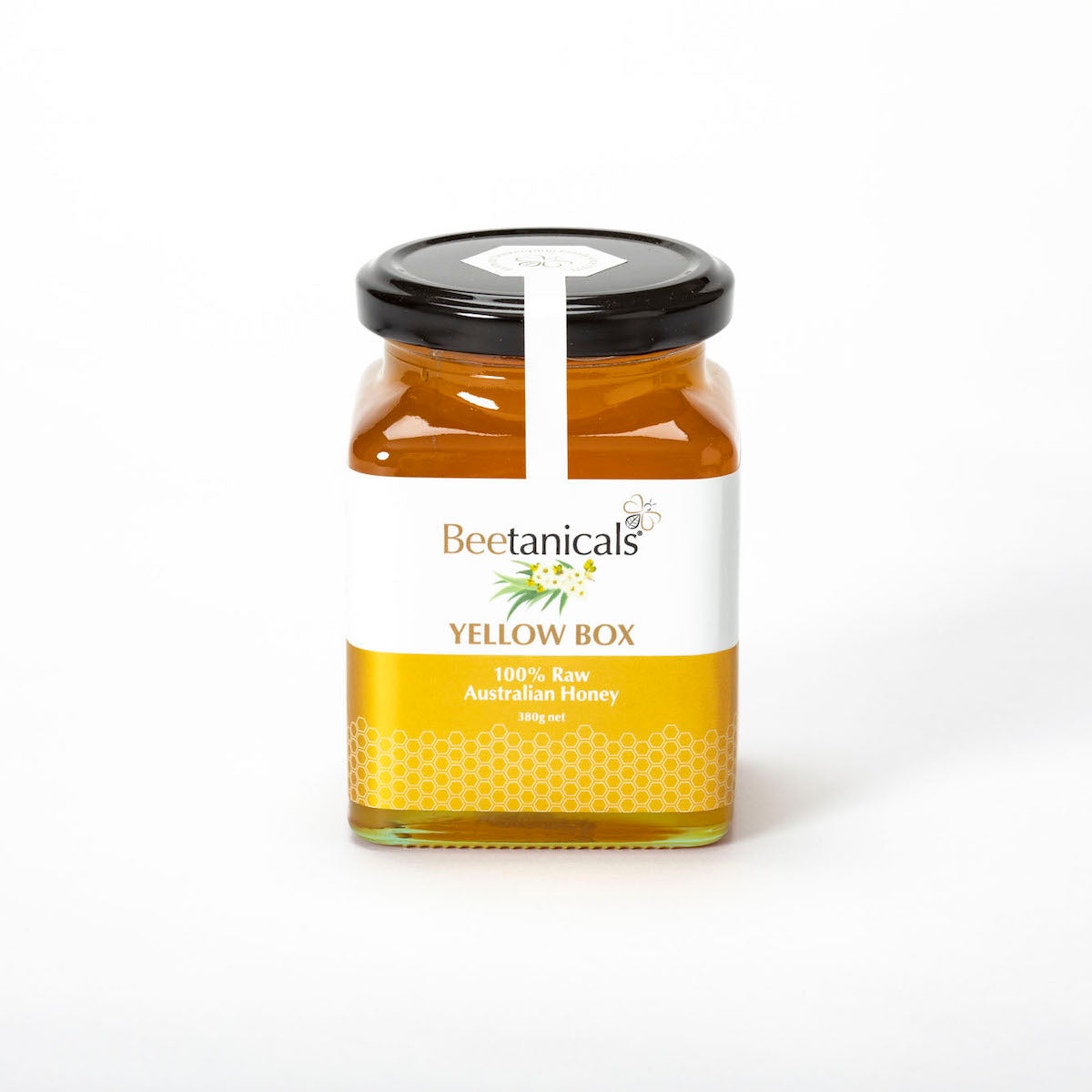 100% Raw Australian Yellow Box Honey 380g