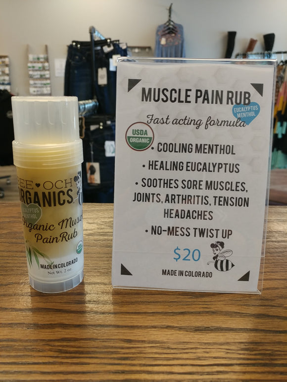 Bee-Och Muscle Pain Rub