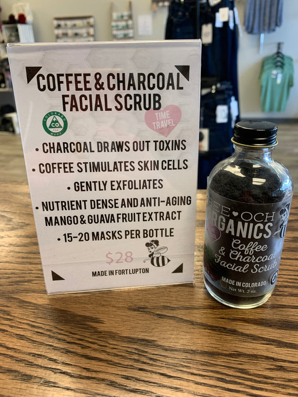 Bee-och Coffee & Charcoal Scrub