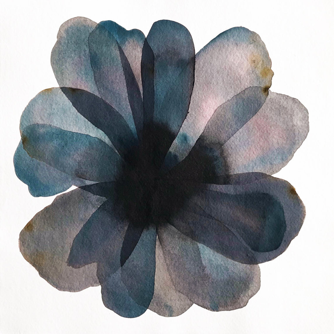 Layered Blue Flower