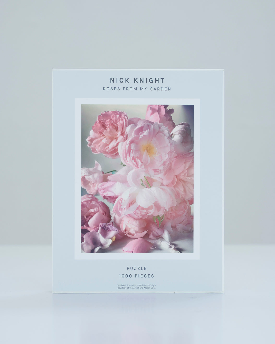 Nick Knight Jigsaw Puzzle: Sunday 6th November, 2016