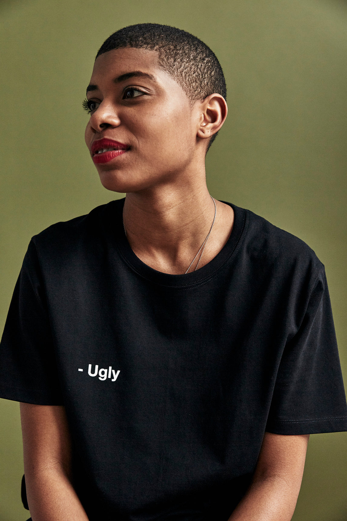 Black 'Ugly' T-Shirt