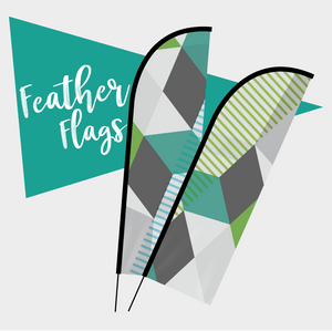 Acrobat Feather Flags - Rother Valley Press