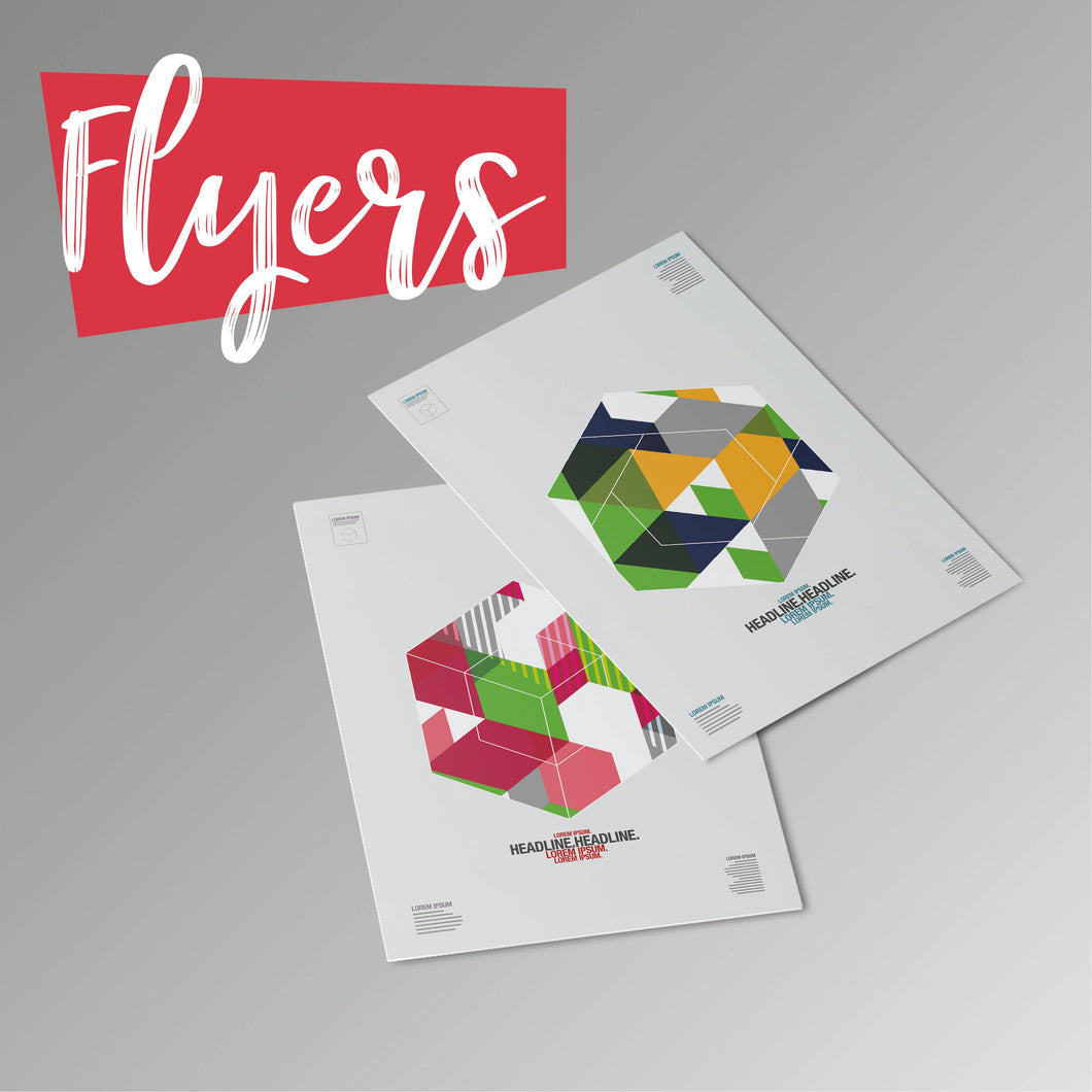 Flyers - Rother Valley Press
