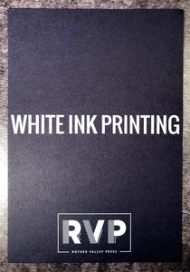 (WHITE INK) Leaflets